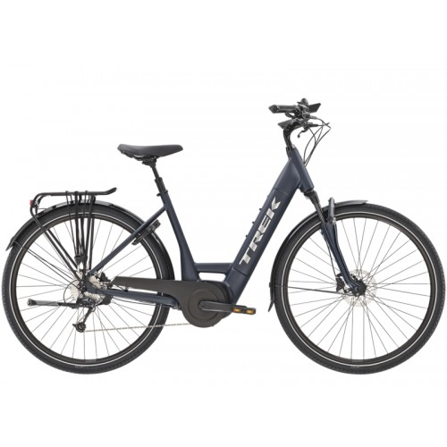 Trek Verve+ 4 Lowstep, Matte Nautical Navy