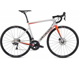 Specialized Tarmac Men Sl6 Comp Disc, Metwhtsil/rktred/tarblk