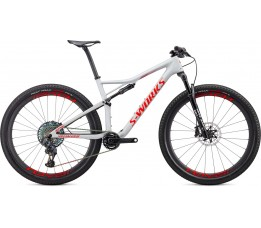 Specialized Epic, Dove Grey/rocket Red/crimson