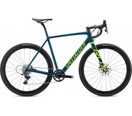 Specialized Crux (richard), Dusty Turquoise/hyper Green